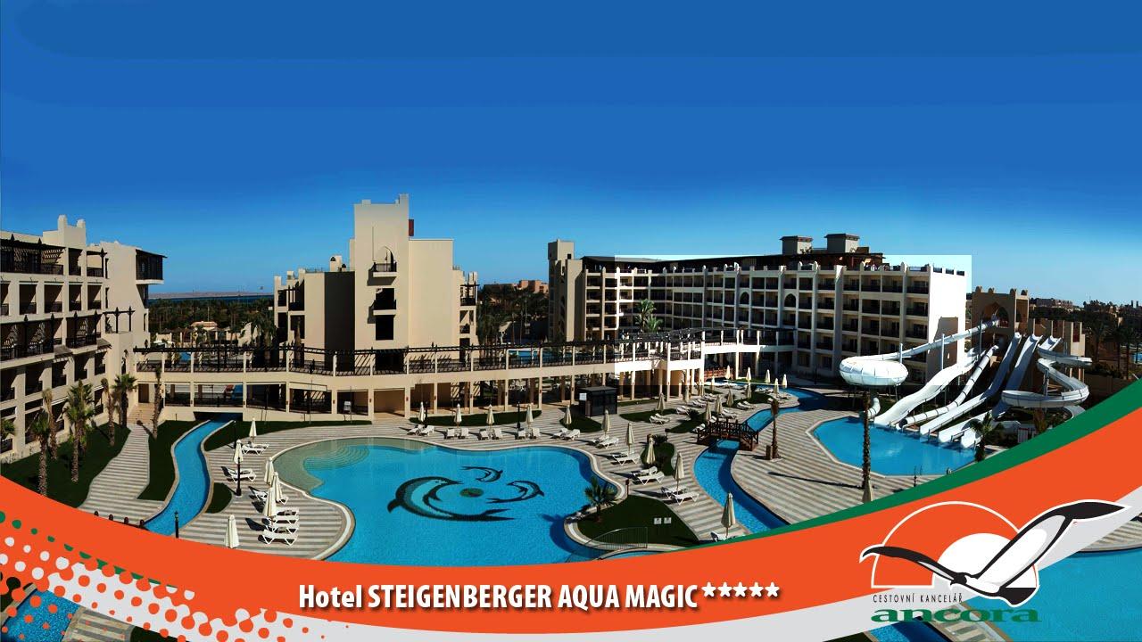 Hotel Steigenberger Aqua Magic Hurghada Egypt Youtube