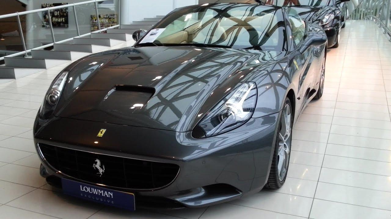 Ferrari California 2014 In Depth Review Interior Exterior - YouTube