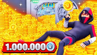 🤑😱 Ich gebe 1.000.000 VBUCKS in Fortnite aus