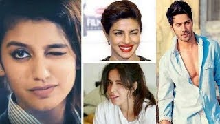 Priya Prakash Varrier Funny Video |  BOLLYWOOD REACTION ON PRIYA PRAKASH WARRIER