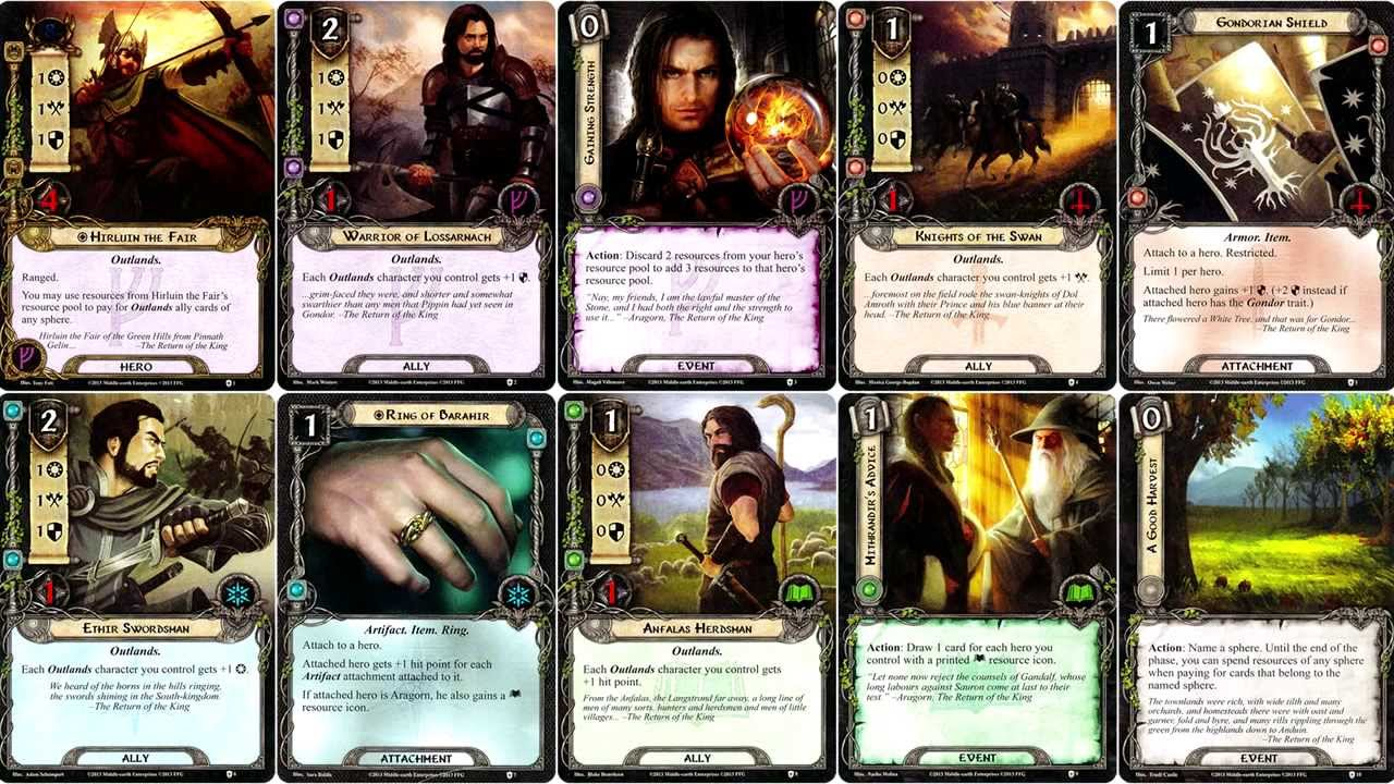 Image result for lotr lcg steward's fear""
