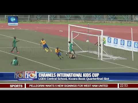 Channels Int'l Kids Cup LGEA Central School Kwara Book Quarterfinal Slot