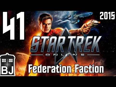 Let's Play Star Trek Online (2015) Federation - 41 - Rear Admiral Lower Half and Patrol Escort