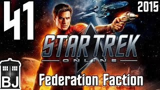 Let's Play Star Trek Online (2015) Federation - 41 - Rear Admiral Lower Half and Patrol Escort(Star Trek Online (STO) is a Free-to-Play (F2P) MMORPG developed by Cryptic Studios and is set in the 25th century, 30 years after the TV shows and movies we ..., 2015-11-15T23:03:56.000Z)