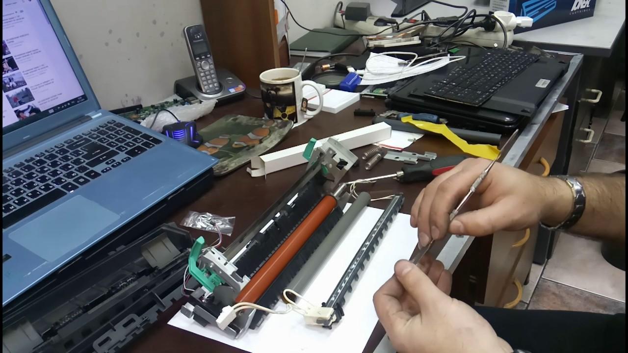 Инструкция замена термопленки 2420