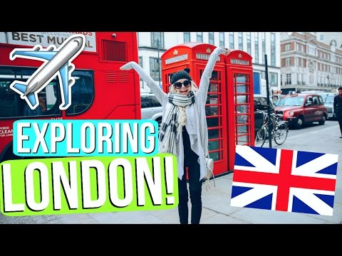 BEING A TOURIST IN LONDON!