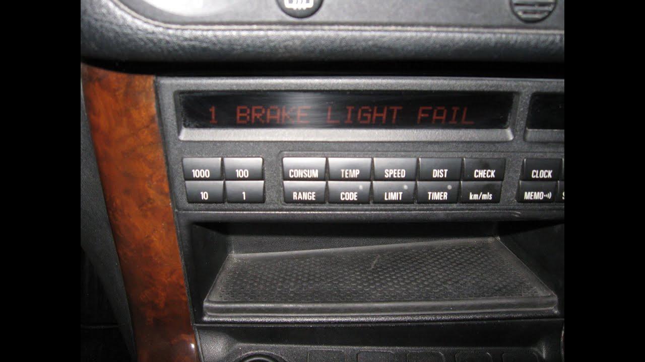 Warning Light On Bmw >> BMW brake circuit warning and brake light fail by froggy - YouTube