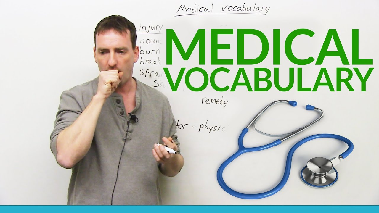 learn medical vocabulary in english youtube. Black Bedroom Furniture Sets. Home Design Ideas