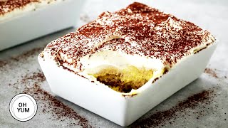 The Best Tiramisu Recipe!  Oh Yum With Anna Olson