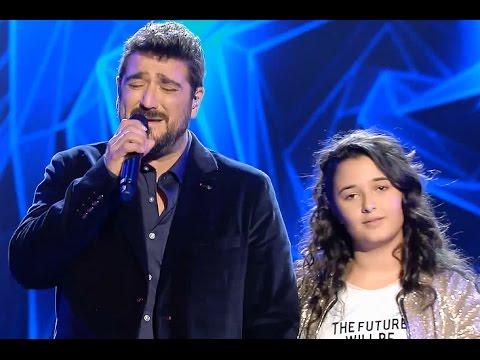 """Antonio Orozco ft. Rocío: """"Mi Héroe"""" – Final- La Voz Kids 2017"""