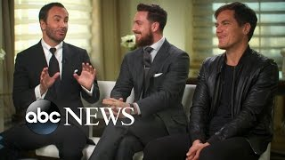 tom ford michael shannon and aaron taylor johnson talk nocturnal animals