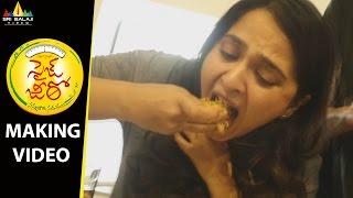 Size Zero Movie Making Video   Anushka Shetty   Arya   Sri Balaji Video