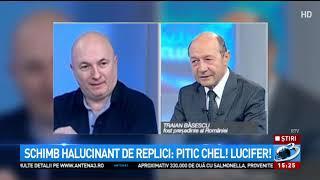 Traian Basescu, scandal in direct, la televizor. Cu cine s-a certat fostul presedinte