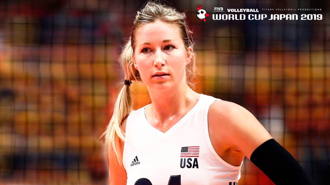Karsta Lowe - Fantastic Volleyball Spikes | World CUP Japan 2019