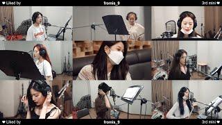 프로미스나인 (fromis_9) - '별의 밤' Recording Behind