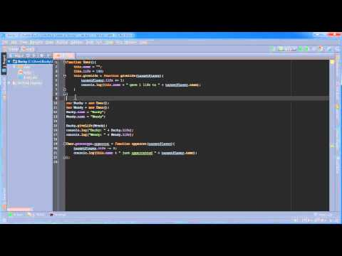 Node.js Tutorial for Beginners - 7 - Prototype