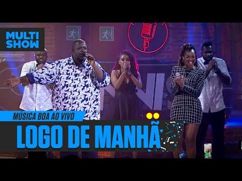 Logo de Manhã  IZA + Péricles  Música Boa Ao Vivo  Música Multishow