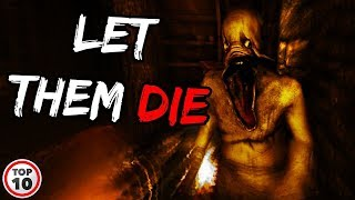 Top 10 Scary Video Game Tropes We Need To Leave In The 2010's