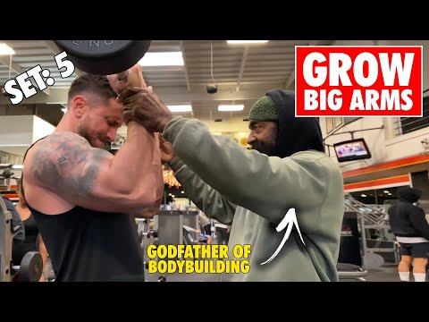 The ONLY Arm Workout You Need For BIG ARMS! (Ft. Charles Glass)