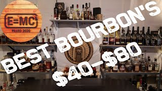 Top 5 Bourbons unḋer $80 according to Power of Bourbon