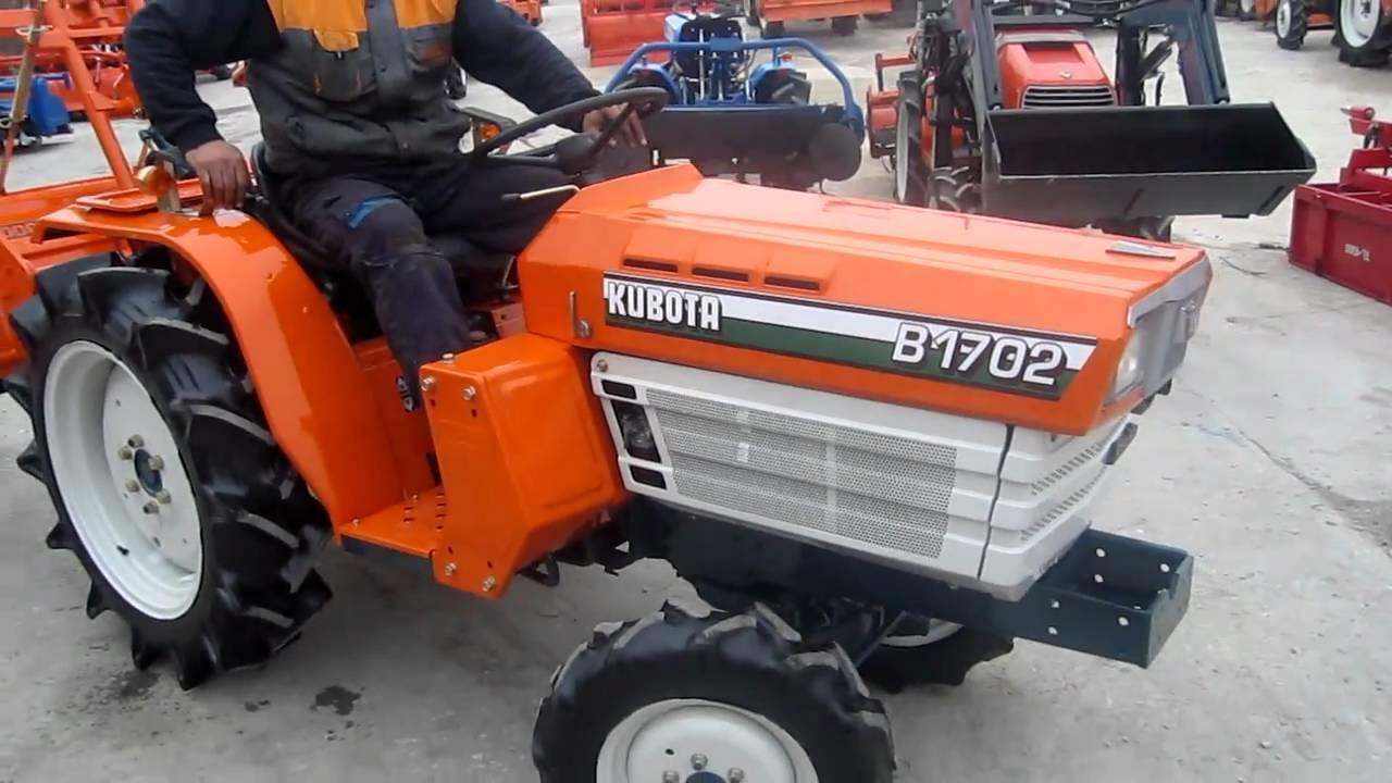 ΤΡΑΚΤΕΡ KUBOTA B1702 4WD 4X4 www.trakter.com ΤΑΓΤΑΛΕΝΙΔΗΣ