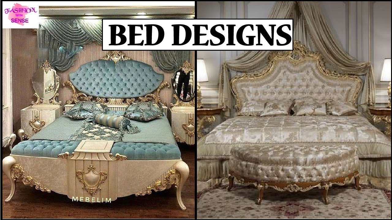 Modern Luxury Bed Design 2020 Latest Bedroom Furniture Design Bed Designs In Pakistan 2020 Youtube