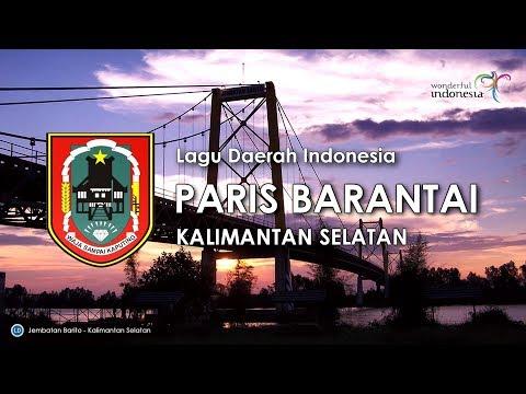 Paris Barantai - Lagu Daerah Kalimantan Selatan (Karaoke dengan Lirik)