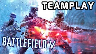 ACTION MOVIE level PVP TEAMPLAY | BATTLEFIELD V (Tactical Gameplay)