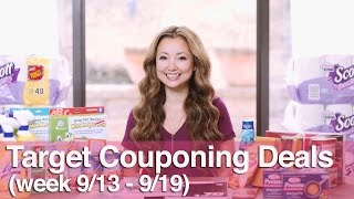 ★ Target Couponing Deals Video (9/13-9/19)
