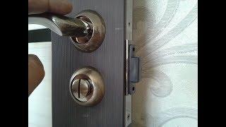 видео Магнитные замки для межкомнатных дверей