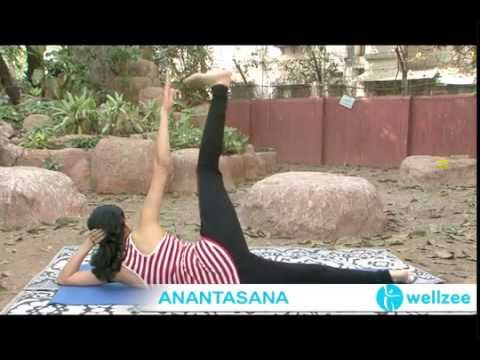 Anantasana In Online Yoga Classes