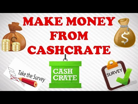 How to Make Money on Cashcrate [Get paid for taking Survey]