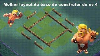 MELHOR LAYOUT DA BASE DO CONSTRUTOR CV 4 CLASH OF CLANS