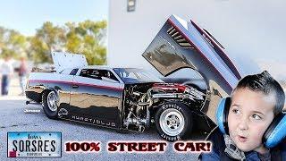 SORCERESS! WILD 100 % STREET CAR! OLD SKOOL MADE NEW! TESTING AT CORDOVA RACEWAY!