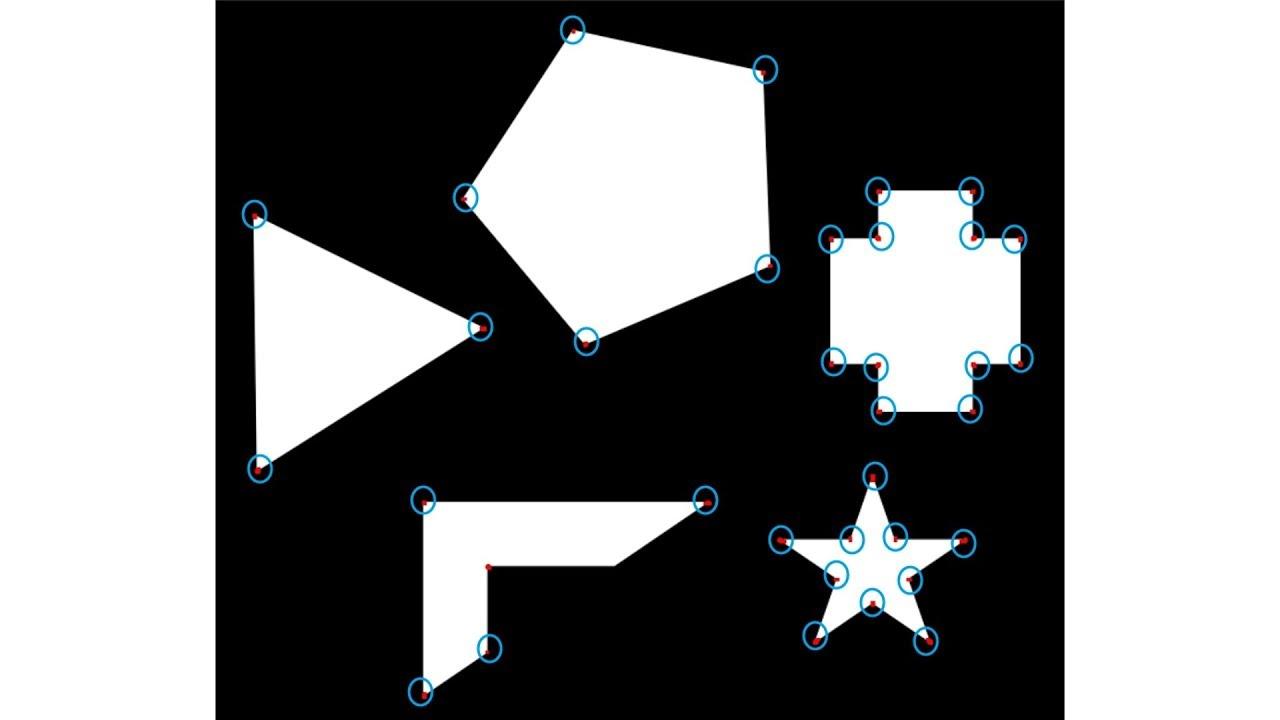OpenCV Python 강좌 - 10  Harris Corner Detection