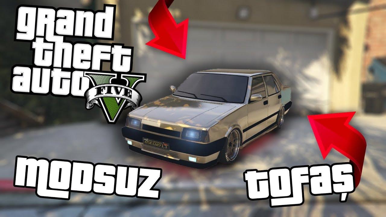 GTA 5 'TE MODSUZ TOFAŞ ŞAHİN NASIL ALINIR ? (Grand Theft Auto 5)
