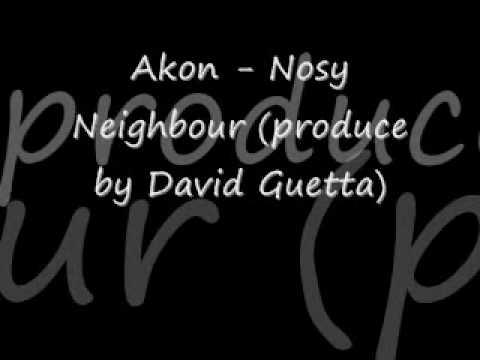 Nosy Neighbour Guitar Chords - Akon - Khmer Chords