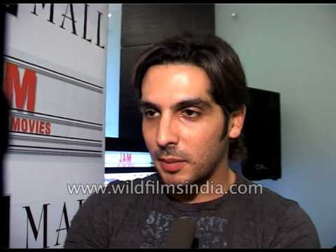 Zayed Khan interview for the promotion of his film Shadi No. 1