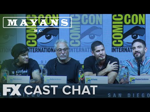 Mayans M.C. | Season 1: JD Pardo's Audition Comic-Con Cast Chat