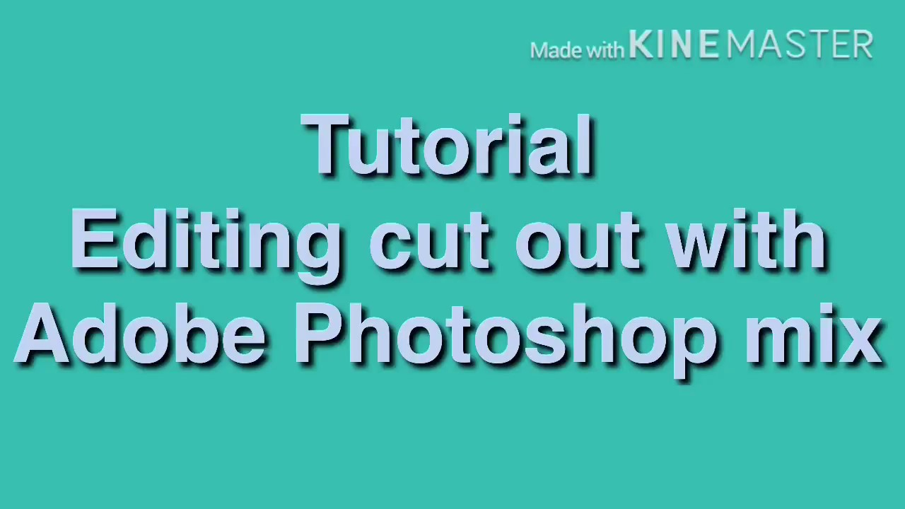 adobe photoshop mix tutorial