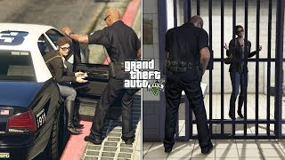 What Happens If Michael Doesn't Save Amanda in GTA 5? (Prison Escape and Police Armory Room)