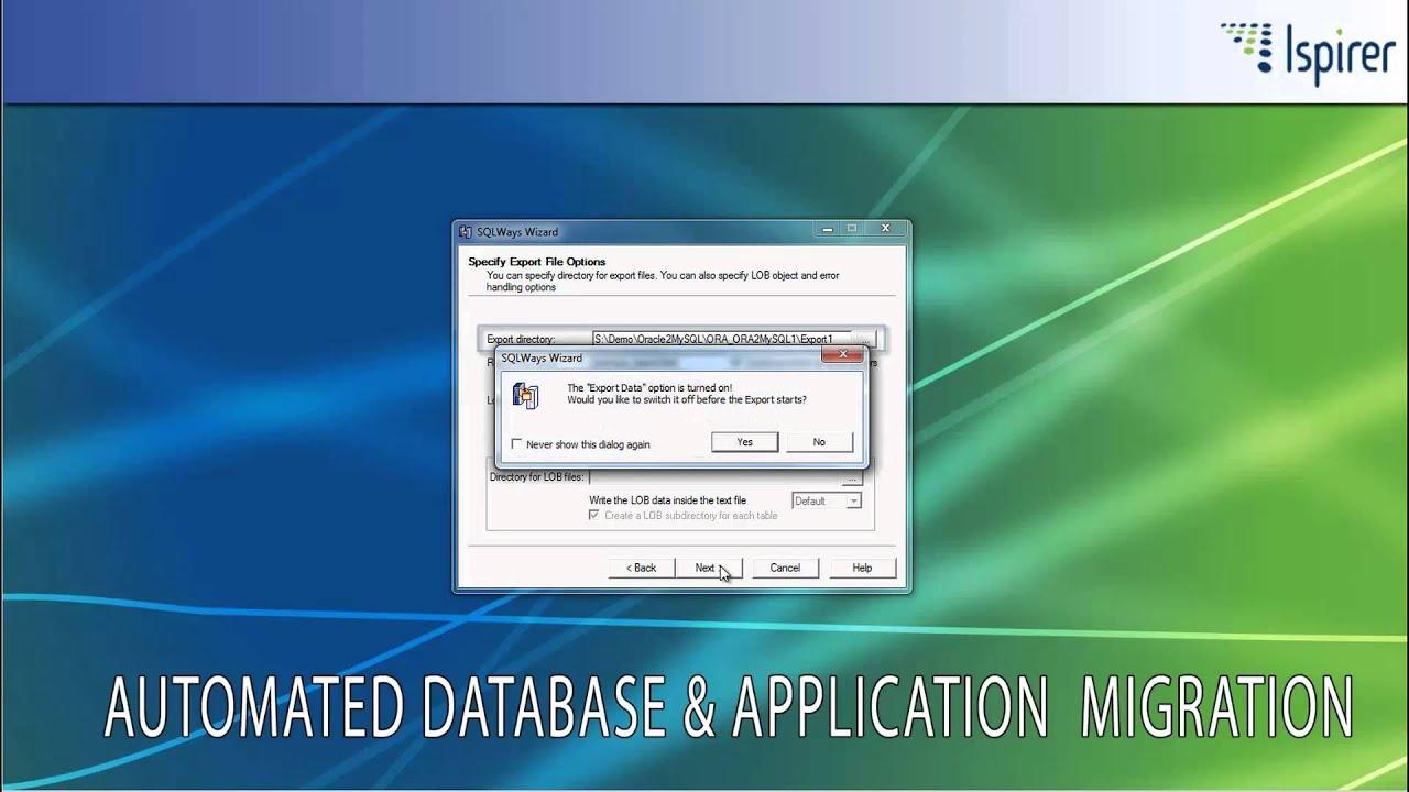 Oracle to MySQL Database Migration Demo