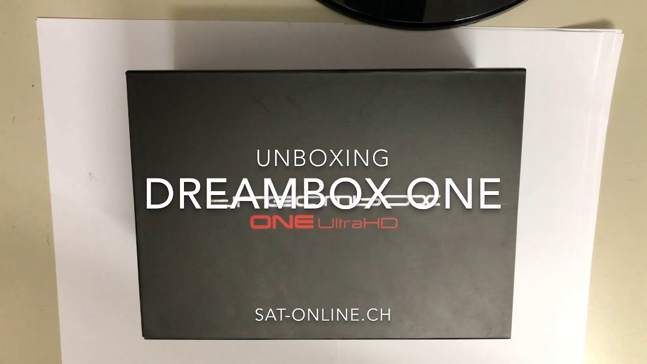 Dreambox One UHD Unboxing