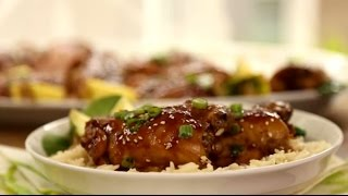 Chicken Recipes - How To Make Oven Roasted Teriyaki Chicken