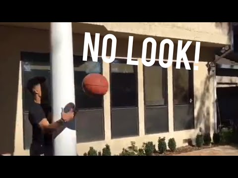 Backyard Basketball TRICK SHOTS!