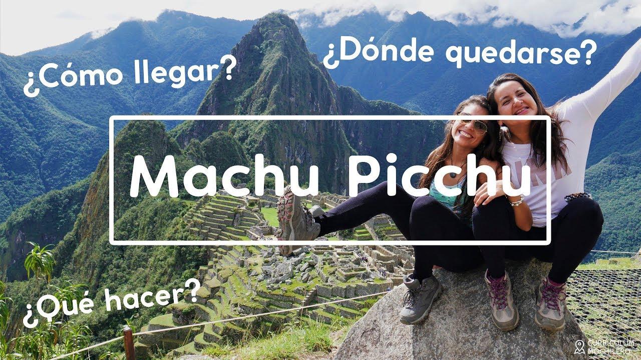 Ruta #9 MACHU PICCHU | CURRICULUM MOCHILERO