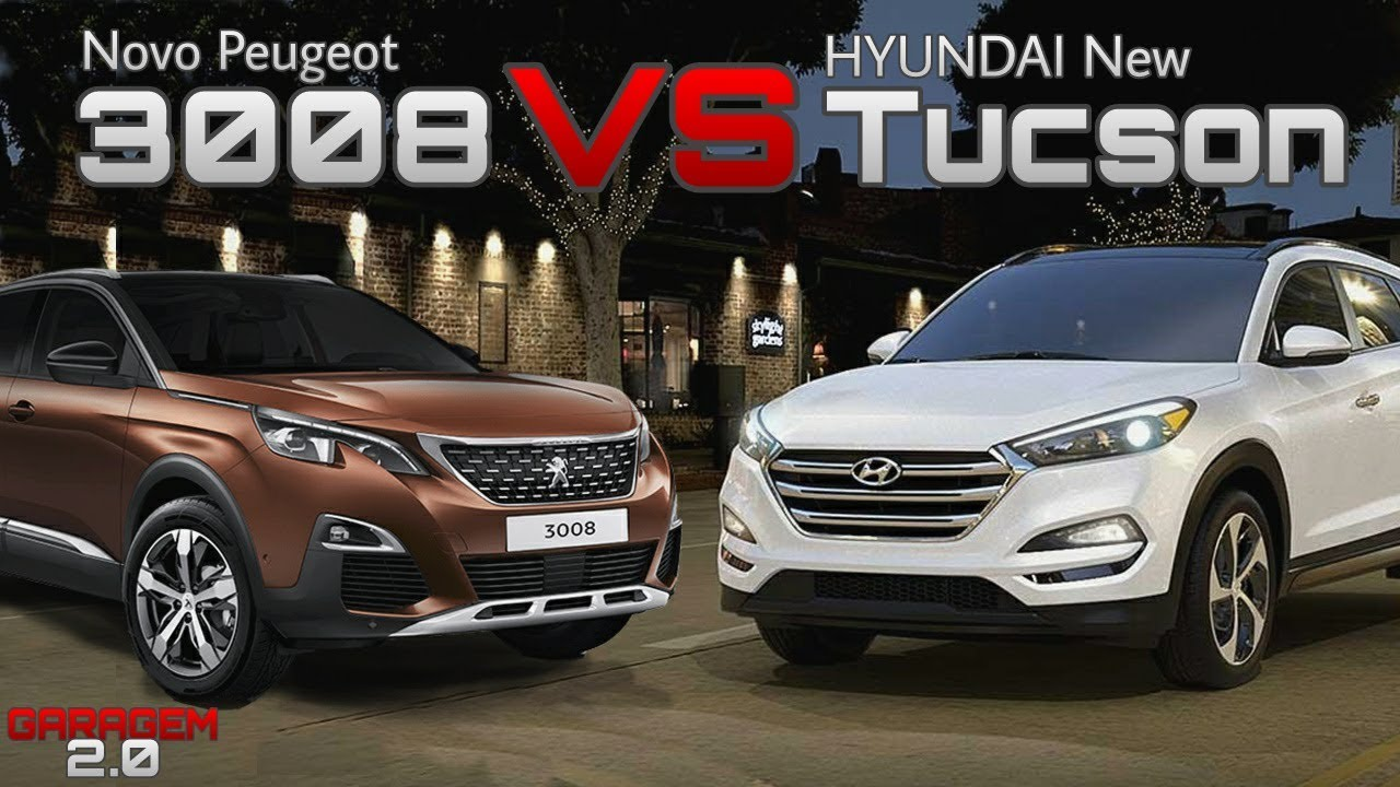 comparativo novo peugeot 3008 vs hyundai new tucson garagem 2 0 youtube. Black Bedroom Furniture Sets. Home Design Ideas