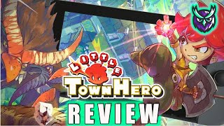 Little Town Hero Switch Review - I WAS NOT Expecting THIS! (Video Game Video Review)