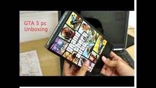 GTA 5 pc unboxing +installation