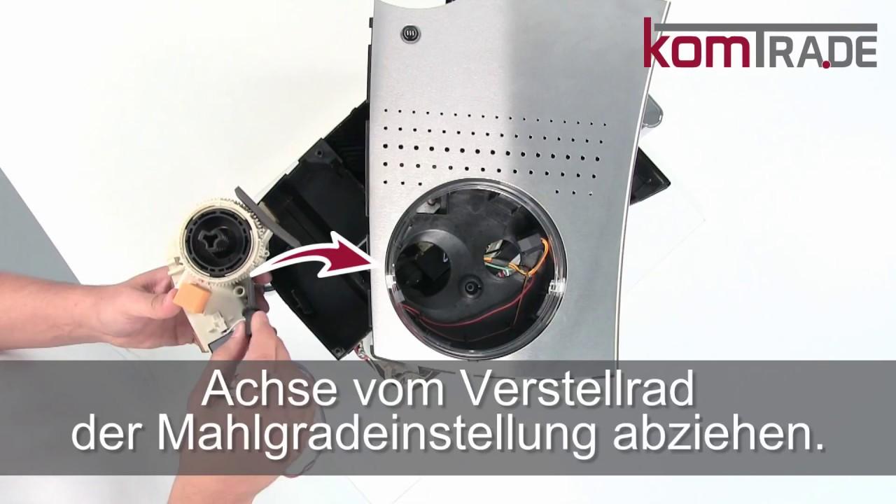 Gemeinsame Bosch VeroCafe-Serie Reparaturanleitung Mahlwerk ausbauen-ersetzen #FK_79